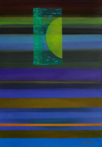 Istvan JARMECZKY - Gemälde - BALATON ABSTRACT 7