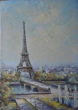 Lucien DELARUE (1925-2011) - LA TOUR EIFFEL