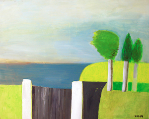 Zurab GIKASHVILI - Gemälde - Landscape