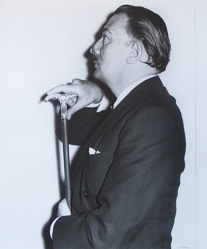André VILLERS - Photography - Salvador Dali at the Ritz Hotel in 1956