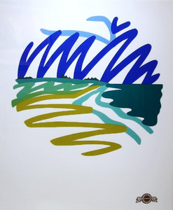 Tom WESSELMANN, SEASCAPE (ROUND)