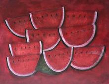 Rufino TAMAYO - Peinture - Pastèques