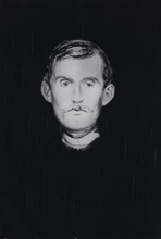Edvard MUNCH (1863-1944) - Self portrait
