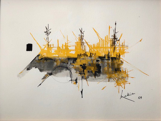 Georges MATHIEU - Peinture - Ruau