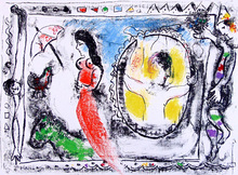 Marc CHAGALL (1887-1985) - Beyond the Mirror | Derrière le Miroir