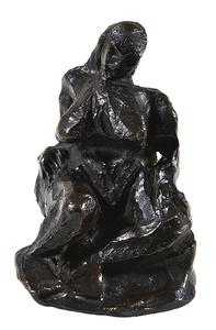 Pablo PICASSO - Sculpture-Volume - Nu assis