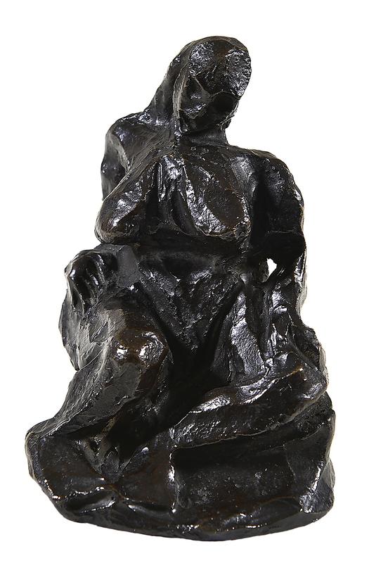 巴勃罗•毕加索 - 雕塑 - Nu assis