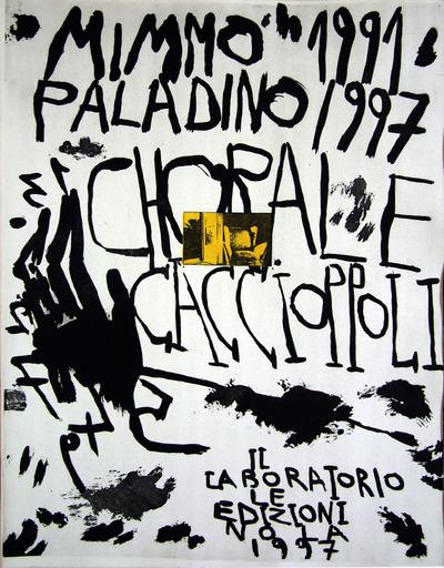 Mimmo PALADINO - Print-Multiple - Corale Caccioppoli