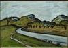 Auguste CHABAUD - Peinture - Champs d'oliviers dans la Montagnette