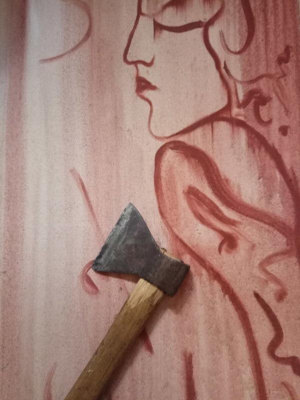 Ellina KATSNELSON - Painting - The Painting
