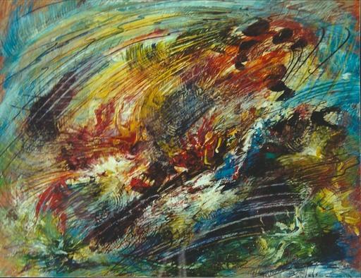 Didier ANGELS - Peinture - Le monde d'Orphée