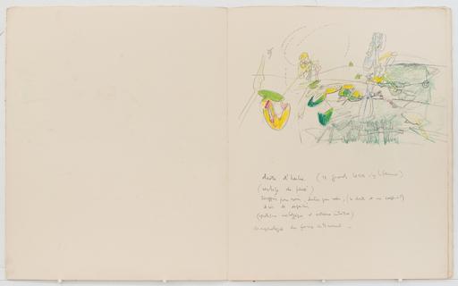 Roberto MATTA - Disegno Acquarello - Art Pertinent