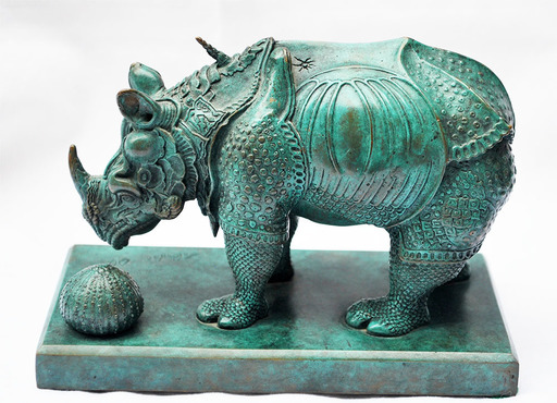 Salvador DALI - Sculpture-Volume - Rhinoceros