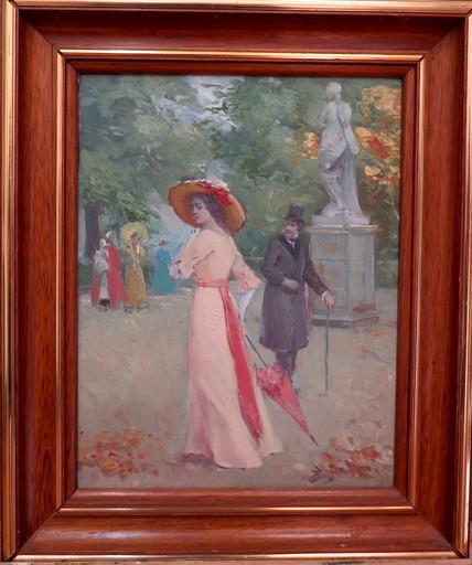 Juan SOLER - Painting - L'élégante