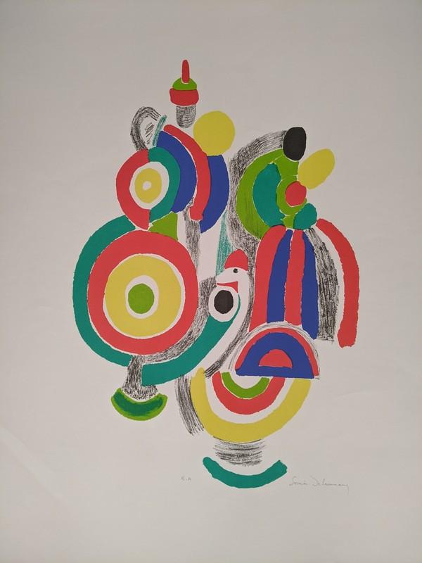 Sonia DELAUNAY-TERK - Estampe-Multiple - Les jouets portugais