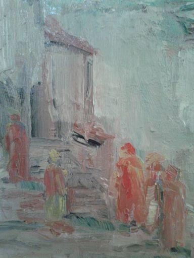 Ceferino OLIVÉ CABRÉ - Painting - NAPOLI
