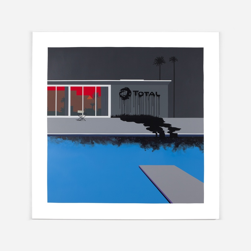 ZEVS - Painting - Liquidated logo Total