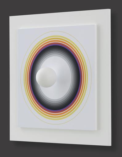 Antonio ASIS - Grabado - Asistype 8 - boule sur cercle
