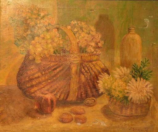 Nicolas SINEZOUBOFF - 绘画 - Still-life