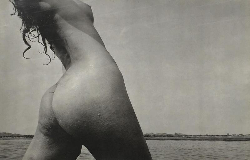 Lucien CLERGUE - Photo - Nu devant la mer