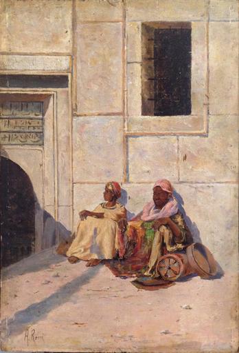 Alberto ROSSI - Gemälde - In attesa