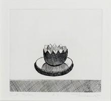 Morton Wayne THIEBAUD - Grabado - Cut Melon