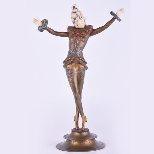 Gustav SCHMIDTCASSEL - Sculpture-Volume - Untitled (Dancer Crossing Legs)