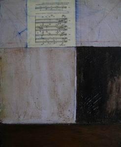 Jean-Michel CORREIA - Painting - A MALLARME