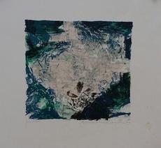 ZAO Wou-Ki - Grabado - Composition pour Berggruen  A 319