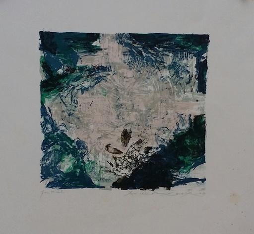 赵无极 - 版画 - Composition pour Berggruen  A 319