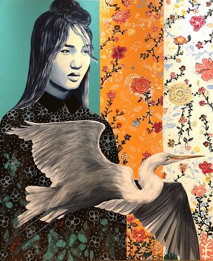 Rosy M. MUDGE - Painting - La decision