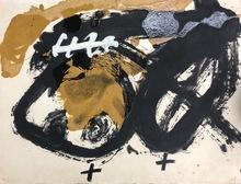 安东尼•塔皮埃斯 - 版画 - Formes i vernis