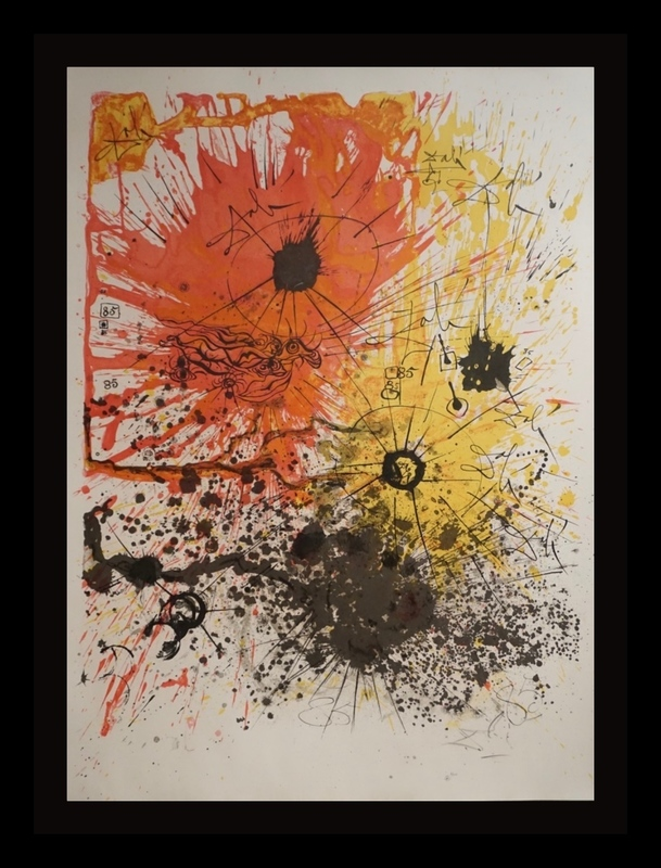 Salvador DALI - Print-Multiple - The Lucky Number of Dali