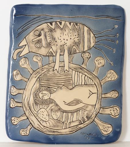 CORNEILLE - Ceramic - plaque murale 44