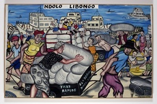 Chéri BENGA - Pintura - Ndolo Libongo