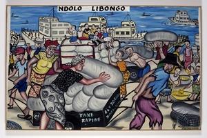 Chéri BENGA - Painting - Ndolo Libongo