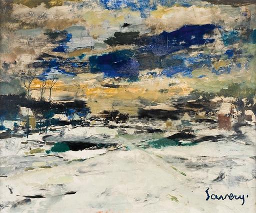 Albert SAVERYS - 绘画 - Sunset