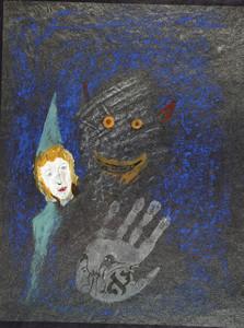 Zvi MILSHTEIN - Drawing-Watercolor - Sans titre (35)