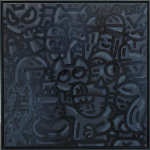 CHANOIR - Gemälde - Black Cat Matter