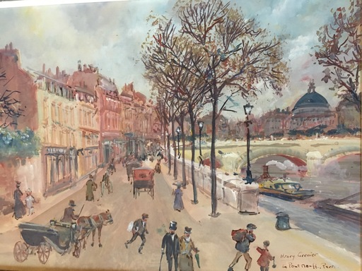 Henri GRENIER - Drawing-Watercolor - Puente Nuevo