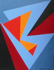 Wladyslaw LOPUSZNIAK - Peinture - Sans titre (LO99)