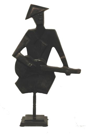 Donald Patrice LABORIE - Sculpture-Volume - Le Guitariste