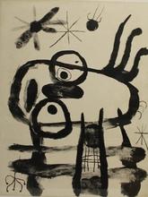 Joan MIRO - Estampe-Multiple - Album 19 Planche 19 -1961