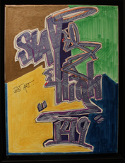STAYHIGH 149 - Peinture - Stay High Colorblock