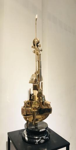 Fernandez ARMAN - Escultura - Violon Spirale