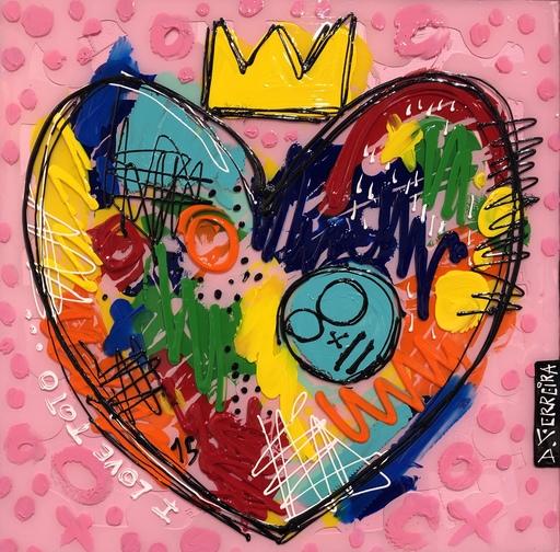 David FERREIRA - Pittura - I love Toto