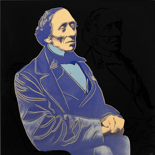 Andy WARHOL - Grabado - Hans Christian Andersen 3