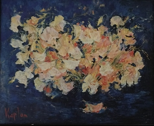 Mark KAPLAN - Painting - Pois de senteur