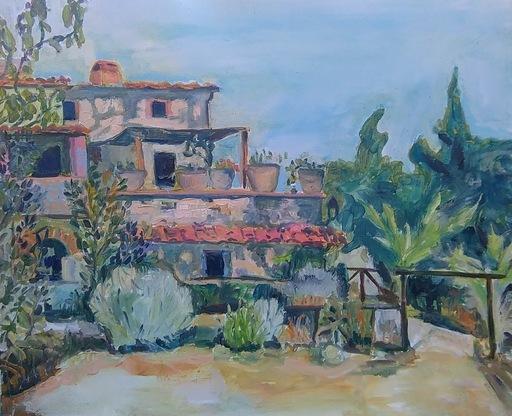 Ewa WITKOWSKA - Peinture - Italian village
