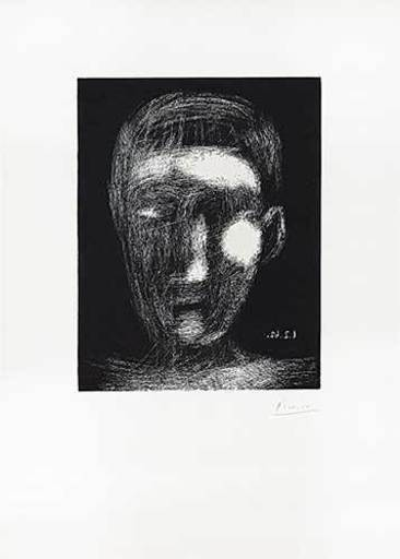 Pablo PICASSO - Print-Multiple - Tête de garçon